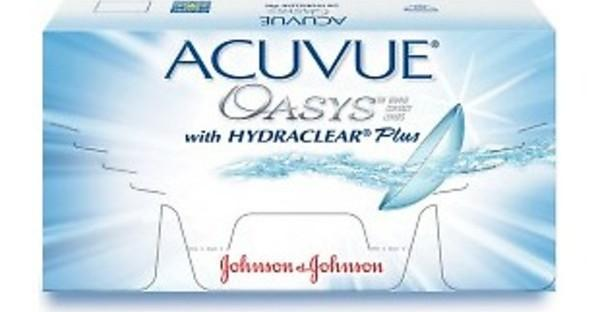 Johnson & Johnson ACUVUE OASYS with HYDRACLEAR Plus PH-12P-REV