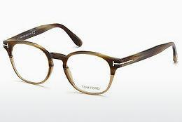 Designerglasögon Tom Ford FT5400 65A - Beige/grå, Horn, Brown