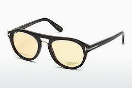 Designerglasögon Tom Ford FT5438-P 64E - Beige/grå, Horn, Brown