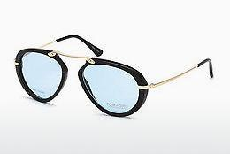 Designerglasögon Tom Ford FT5442-P 62V - Brun, Horn, Ivory