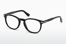 Designerglasögon Tom Ford FT5498-P 62R - Brun, Horn, Ivory