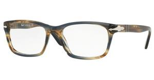 Persol PO3012V 1049 STRIPED BROWN GREY