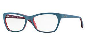 Ray-Ban RX5298 5388 TOP MATTE OIL ON TRASP RED