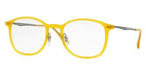 Ray-Ban RX7051 5519 OPAL MATTE YELLOW