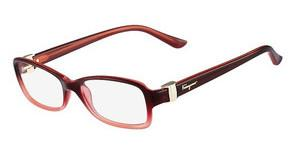 Salvatore Ferragamo SF2654R 615 RED GRADIENT