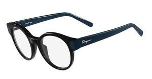 Salvatore Ferragamo SF2757 973 BLACK/PETROL