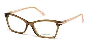 Tom Ford FT5357 048 braun dunkel glanz
