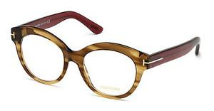 Tom Ford FT5377 048 braun dunkel glanz