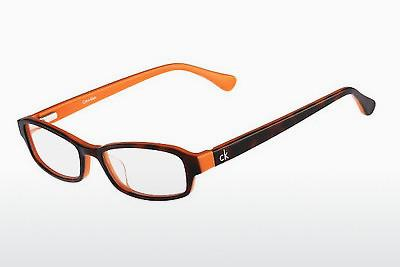 Designerglasögon Calvin Klein CK5865 506 - Havanna, Orange