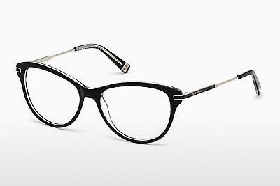 Designerglasögon Dsquared DQ5163 003 - Svart, Transparent