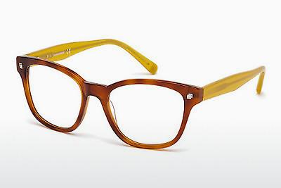Designerglasögon Dsquared DQ5179 053 - Havanna, Yellow, Blond, Brown
