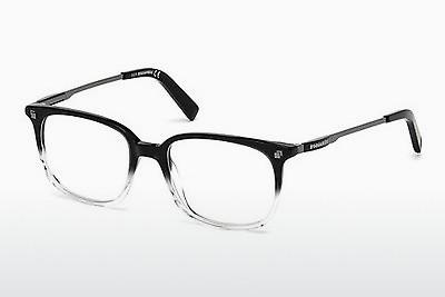 Designerglasögon Dsquared DQ5198 003 - Svart, Transparent