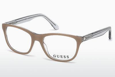 Designerglasögon Guess GU2585 059 - Beige/grå, Brown
