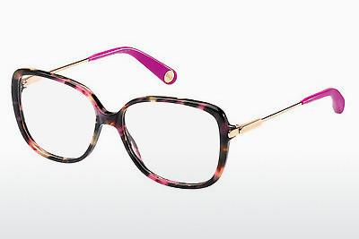 Designerglasögon Marc Jacobs MJ 494 CDC - Brun, Havanna, Guld, Rosa, Transparent