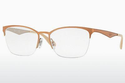 Designerglasögon Ray-Ban RX6345 2920 - Orange