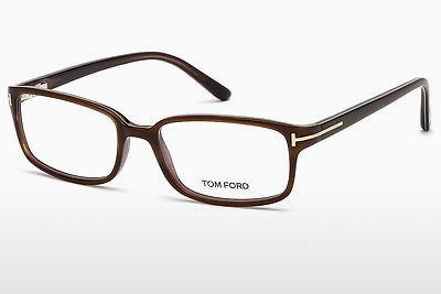 Designerglasögon Tom Ford FT5209 047 - Brun, Bright