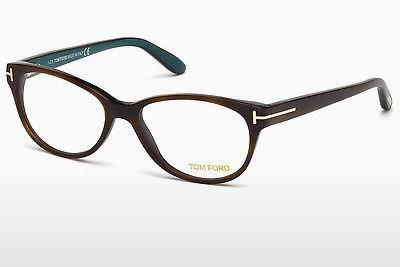 Designerglasögon Tom Ford FT5292 052 - Brun, Dark, Havana