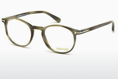 Designerglasögon Tom Ford FT5294 064 - Beige/grå, Horn, Brown