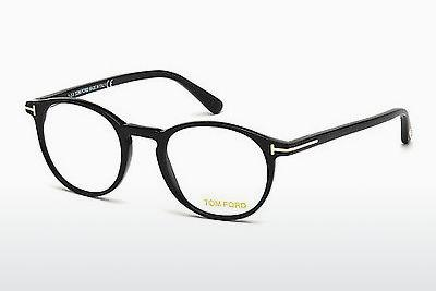 Designerglasögon Tom Ford FT5294 069 - Vinröd, Bordeaux, Shiny