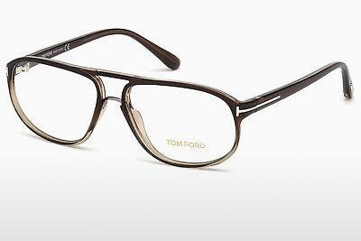 Designerglasögon Tom Ford FT5296 050 - Brun