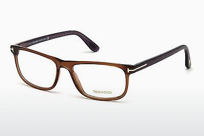 Designerglasögon Tom Ford FT5356 048 - Brun, Dark, Shiny