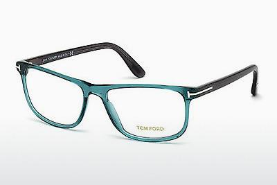 Designerglasögon Tom Ford FT5356 087 - Blå, Turquoise, Shiny