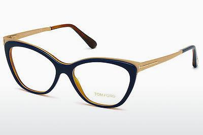 Designerglasögon Tom Ford FT5374 090 - Blå