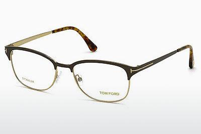 Designerglasögon Tom Ford FT5381 050 - Brun, Dark