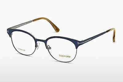 Designerglasögon Tom Ford FT5382 090 - Blå, Shiny