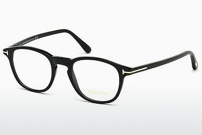 Designerglasögon Tom Ford FT5389 001 - Svart, Shiny