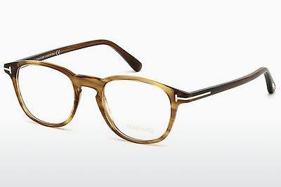 Designerglasögon Tom Ford FT5389 048 - Brun, Dark, Shiny