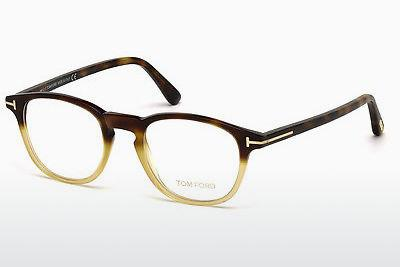 Designerglasögon Tom Ford FT5389 053 - Havanna, Yellow, Blond, Brown
