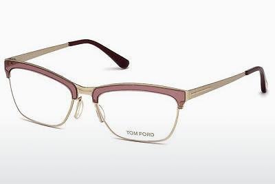 Designerglasögon Tom Ford FT5392 071 - Vinröd, Bordeaux