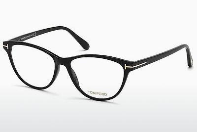Designerglasögon Tom Ford FT5402 001 - Svart, Shiny