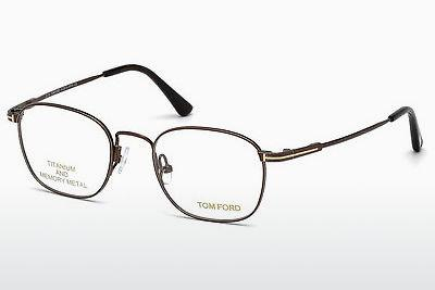 Designerglasögon Tom Ford FT5417 048 - Brun, Dark, Shiny