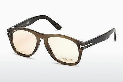 Designerglasögon Tom Ford FT5440-P 64E - Beige/grå, Horn, Brown