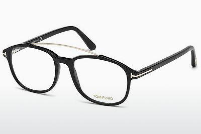 Designerglasögon Tom Ford FT5454 001 - Svart, Shiny