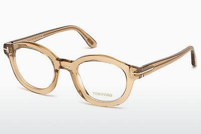Designerglasögon Tom Ford FT5460 045 - Brun, Bright, Shiny