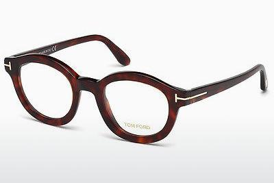 Designerglasögon Tom Ford FT5460 054 - Röd, Brun, Havanna