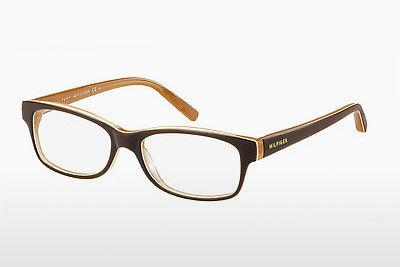 Designerglasögon Tommy Hilfiger TH 1018 GYB - Orange, Brun
