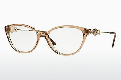 Designerglasögon Versace VE3215 617 - Transparent, Brun