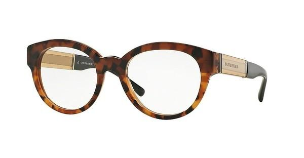 Burberry BE2209 3559 TOP DK HAVANA/LIGHT HAVANA