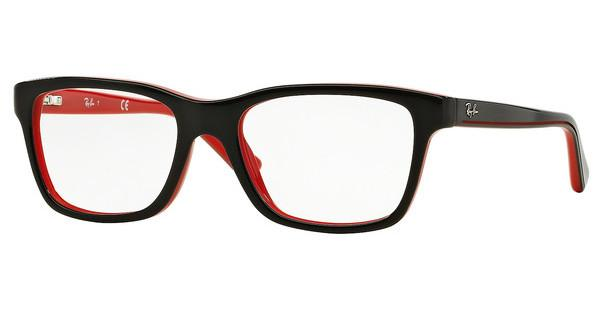 Ray-Ban Junior RY1536 3573 TOP BLACK ON RED