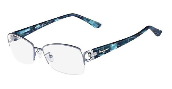 Salvatore Ferragamo SF2104R 414 SHINY BLUE