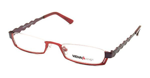 Vienna Design UN454 01 matt red-matt dark purple