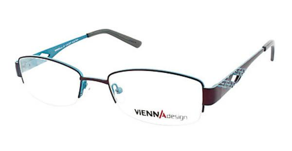 Vienna Design UN478 02 matt dark brown/matt petrol