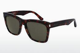 Solglasögon Saint Laurent SL 137 DEVON 002 - Brun, Havanna