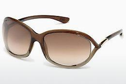 Solglasögon Tom Ford Jennifer (FT0008 38F) - Brons