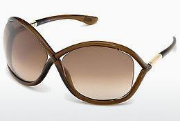 Solglasögon Tom Ford Whitney (FT0009 692) - Brun