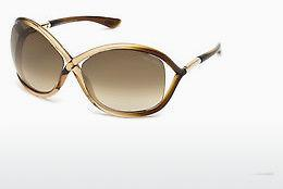 Solglasögon Tom Ford Whitney (FT0009 74F) - Rosa, Rosa